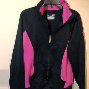Under Armour Semi-Fitted Full Zip Jacket Size SM/P
